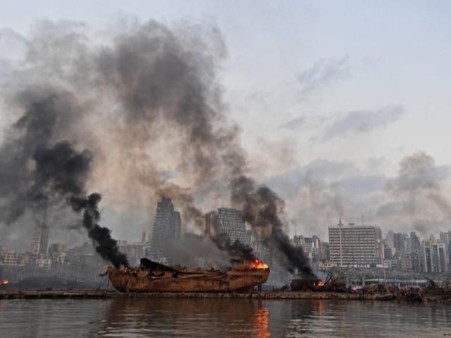 Kareem Chehayeb (28) zag de explosie in Beiroet gebeuren: 'Je voelt overal wanhoop'