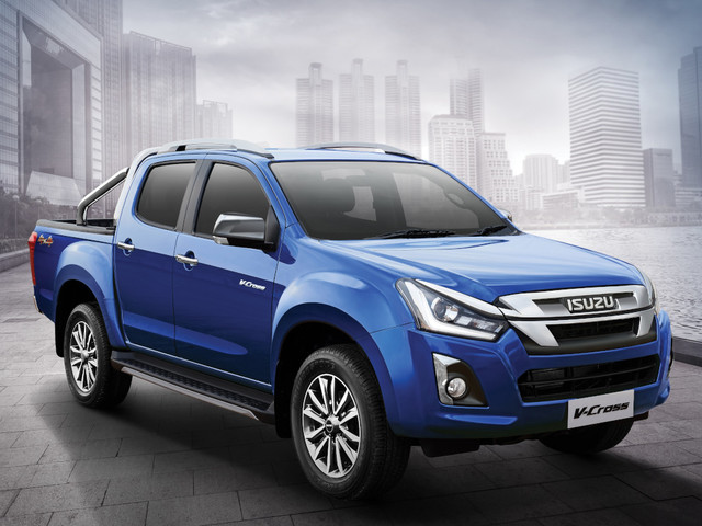 Isuzu D-Max V-Cross 1.9 Diesel Automatic Launched At Rs. 19.99 Lakhs