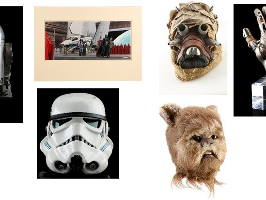 Star Wars Props To Go Under The Hammer. You Could Own A Hand-Painted Ralph McQuarrie Illustration