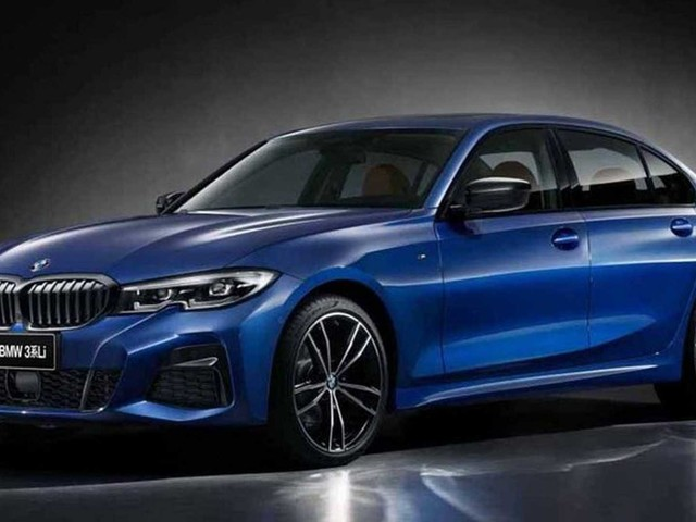 Long Wheelbase 2019 BMW 3 Series Unveiled for the Chinese Market