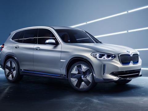 BMW unveils battery-electric Concept iX3 in Beijing; Gen 5 eDrive system; 249 miles WLTP