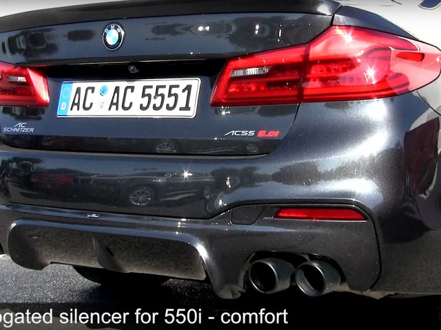 Video: AC Schnitzer Exhaust for BMW M550i Takes Things to a New Level