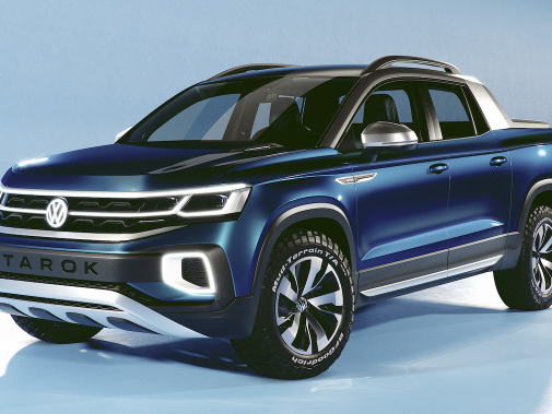 VW of America to gauge US appetite for MQB-based Tarok pickup concept at NY show