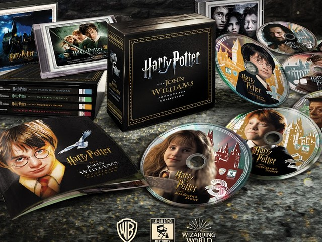 COMING SOON FROM LA-LA RECORDS: HARRY POTTER THE JOHN WILLIAMS SOUNDTRACK COLLECTION