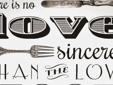 Mijn liefde voor eten