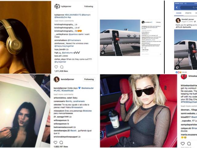 Kardashians & Jenners Continue Posting Stealth Ads, Despite Warnings