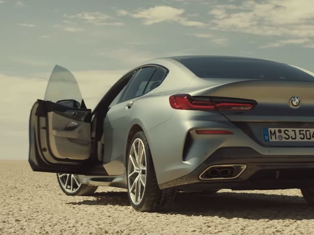 Video: BMW 8 Series Gran Coupe Launch Film Is All Action
