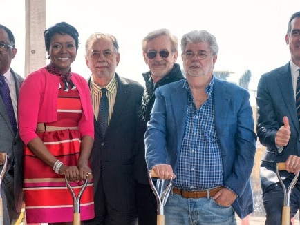 George Lucas Digs In And Launches Construction On Museum