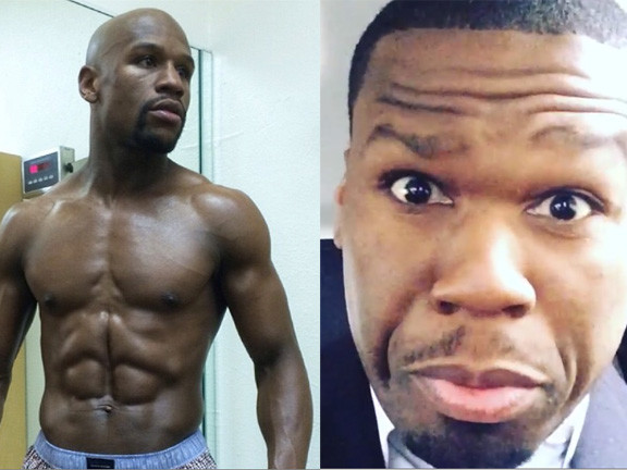 Big Rich Beef: Pettiest Reactions To 50 Cent & Floyd Mayweather's Deliciously Messy InstaKerfuffle