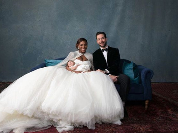 FIRST PHOTOS - See The First Pix Of Serena Wiliams' Wedding To Alexis Ohanian