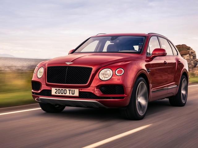 Bentley Bentayga V8 arrives with 542 horsepower