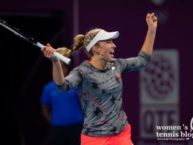 Elise Mertens' tennis fashion in the year she takes the baton as Lotto's leading representative