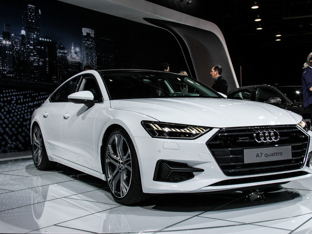2018 Detroit Auto Show: Second-Gen Audi A7 Hits American Shores