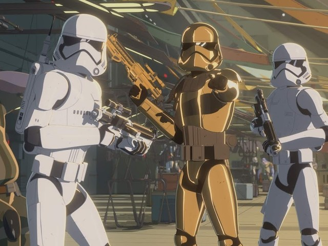 There are Runaways on The Platform on the All-New Episode of Star Wars Resistance 11/4 @ 10PM