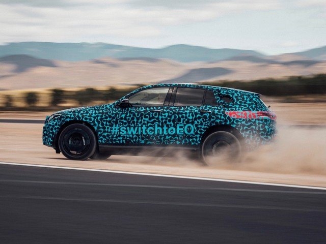 Mercedes-Benz EQC prototypes are ready for summer