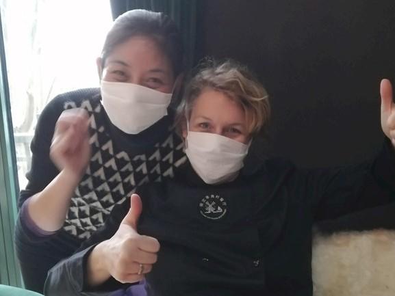 """Gabriëlla is net terug uit door coronavirus geteisterd China: """"De mensen zijn er zó relaxt onder"""""""