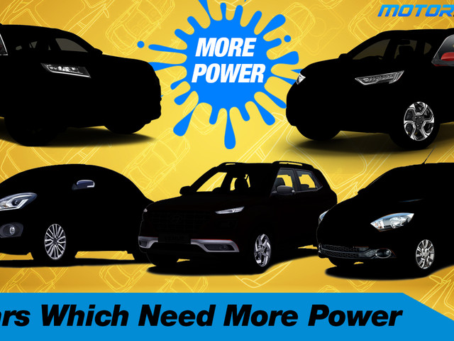 Top 5 Cars Which Need More Power [Video]
