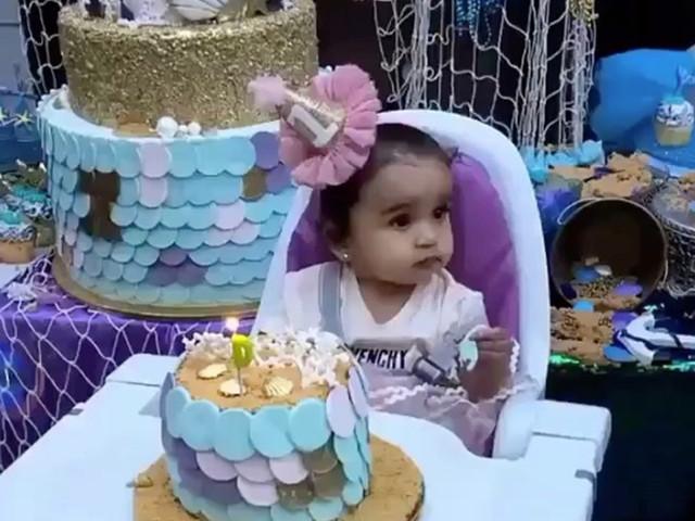 Blac Chyna Throws Mermaid-Themed Birthday Bash For Daughter Dream Kardashian