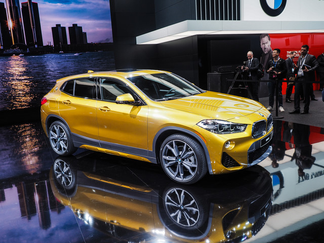 2018 Detroit Auto Show: The new BMW X2