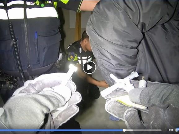 Van meldkamer tot op heterdaad betrappen: politie Dinkelland filmt alles met bodycam