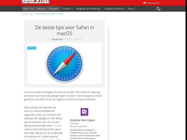 De beste tips voor Safari in macOS