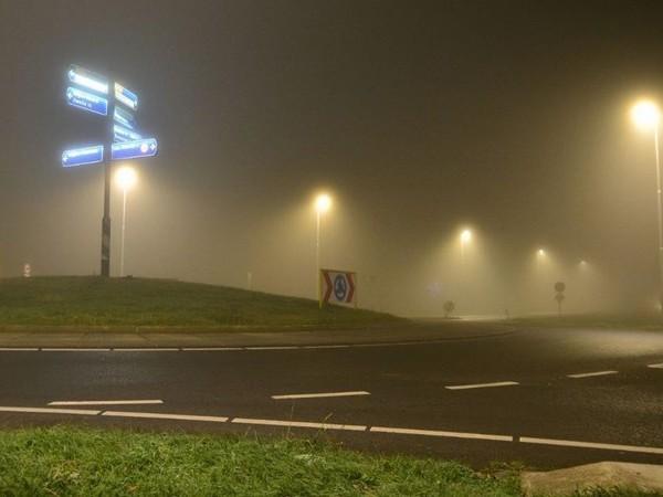 Kans op plaatselijk dichte mist, code geel voor Overijssel