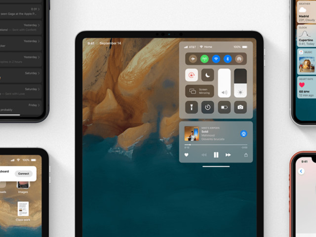 Concept: Zo gaat iOS 13 eruitzien met donkere modus en verbeteringen voor de iPad