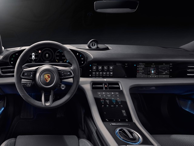 Porsche Taycan interior revealed