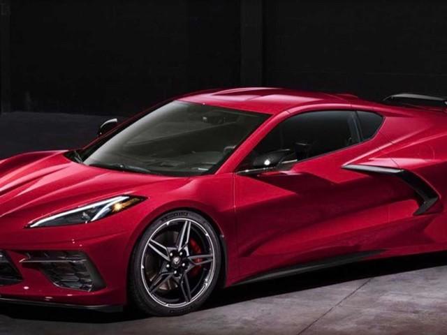 2020 Chevy C8 Corvette Stingray leaked!