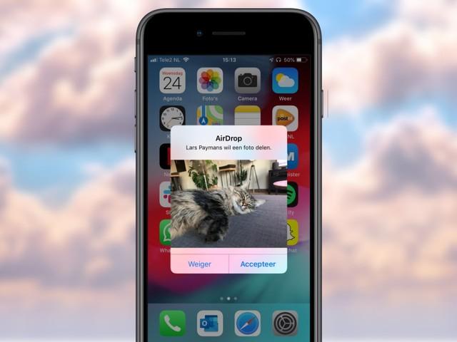 Zo voorkom je ongewenste AirDrops naar jouw Apple-apparaat