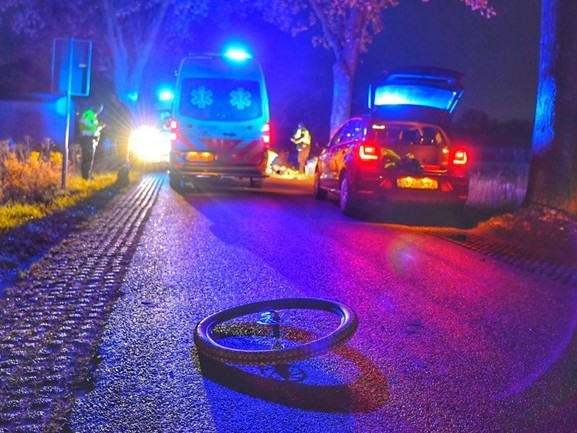Mountainbiker omgekomen na aanrijding met auto in Luyksgestel