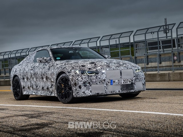 Video: G82 BMW M4 Goes out for testing, drifts on the Ring