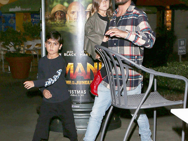 Scott Disick Tears Himself Away From Sofia Richie Long Enough To Take His Kids To Dinner