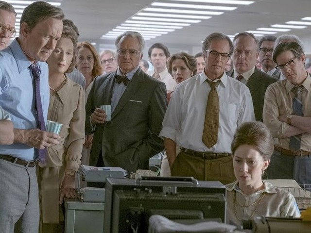 'The Post' Gets Its First Screening. Steven Spielberg, Tom Hanks and Meryl Streep Are There To Unveil