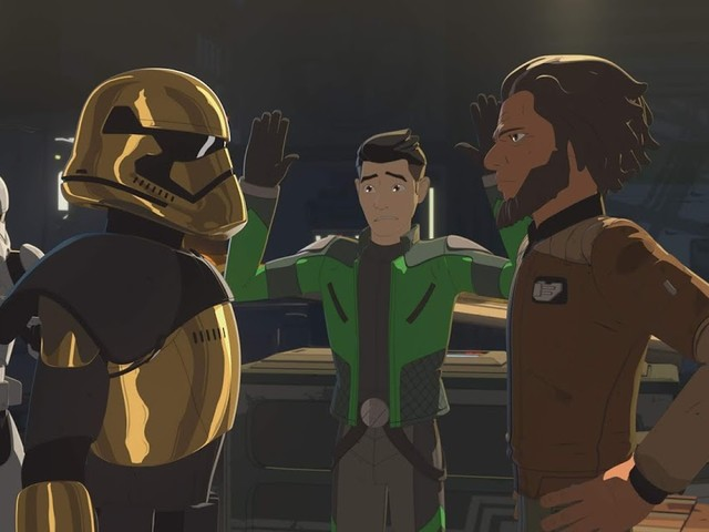 Team Fireball is in Trouble on the All-New Episode of Star Wars Resistance 3/3 @ 10PM