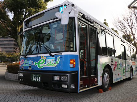Kumamoto University project to use Nissan LEAF technology in electric bus test in Japan; 3 packs, 3 motors