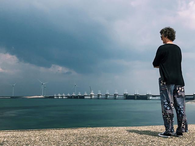 Fiets eens langs de rand van Nederland