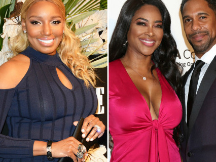 """So Nasty And So Rude: NeNe Leakes Accused Of Befriending Kenya's Dirty Dogging Hubby AND Spitting On Her During """"RHOA"""" Finale Taping!"""
