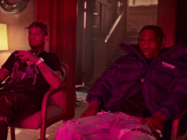 "Smokepurpp Feat. Travis Scott ""Fingers Blue"" Video"