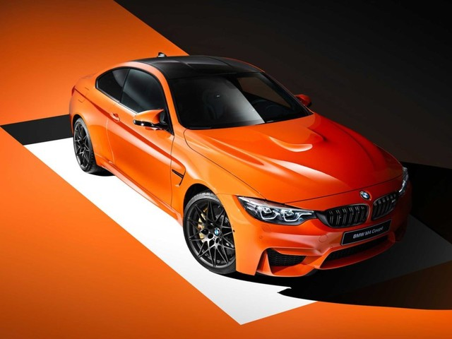 BMW M Presents: BMW M4 Coupe Individual Fire Orange