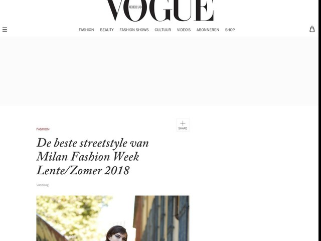 De beste streetstyle van Milan Fashion Week Lente/Zomer 2018