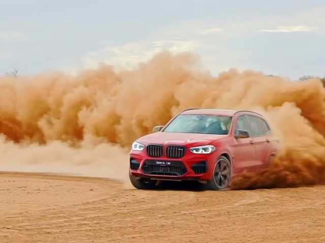 Video: BMW X3 M Review Includes Awesome Desert Drifts