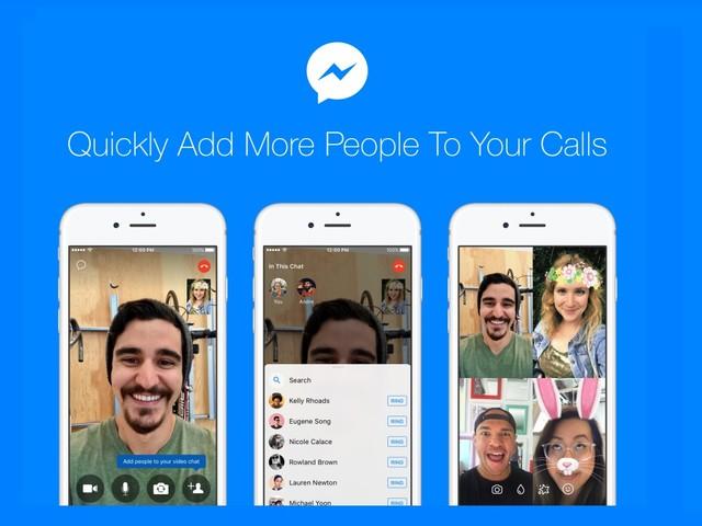 Tip: mensen toevoegen aan Facebook Messenger-chats zonder ophangen