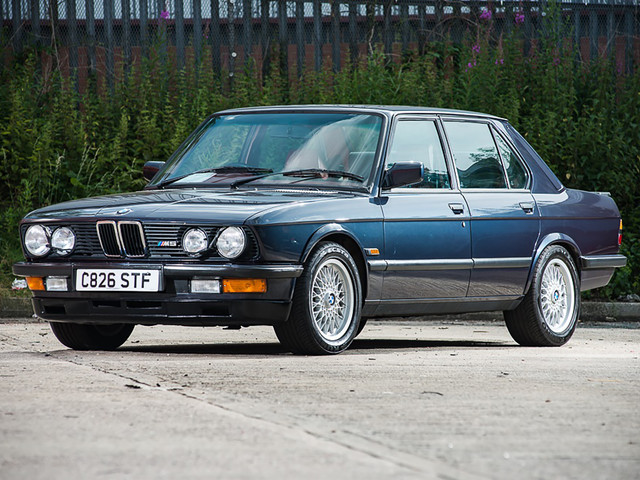VIDEO: Watch Tiff Needell drive every generation of BMW M5