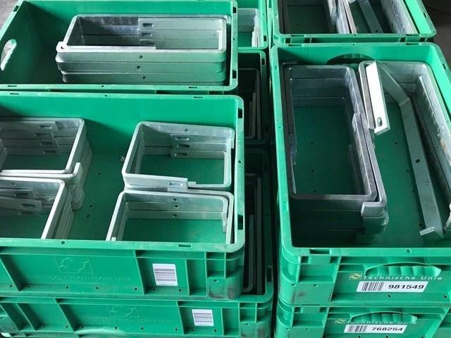 Oude kabelgoten gesloopt en nu online te koop