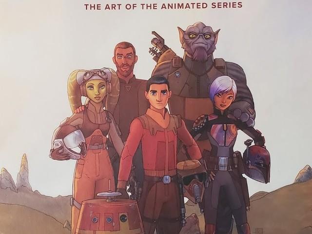 BOOK REVIEW: THE ART OF STAR WARS: REBELS