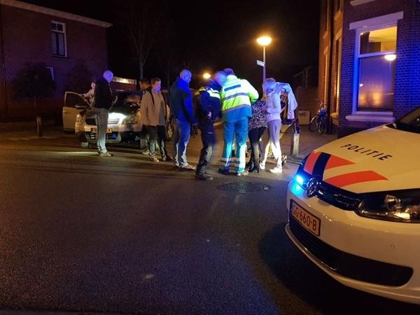 Fietsster gewond na botsing met auto in Enschede