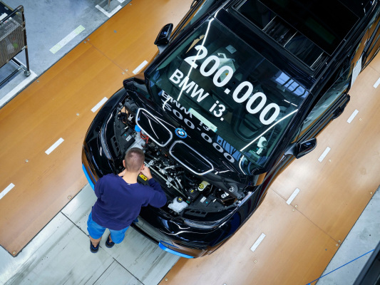 200,000 BMW i3 EVs produced in Leipzig over nearly 7 years