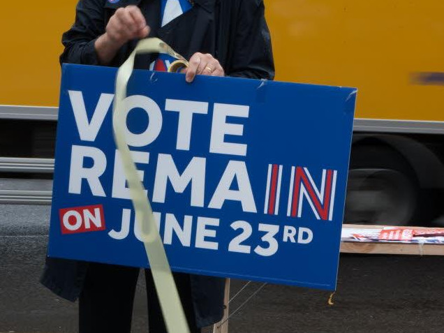 Vele duizenden anti-brexitbetogers in Londen