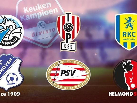 Koploper FC Den Bosch weer op weg naar winst, FC Eindhoven draait duel volledig om [TUSSENSTANDEN]